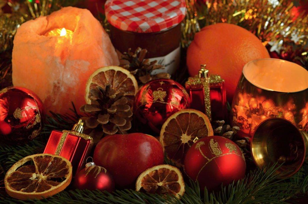 Vánoční obrázky dekorace