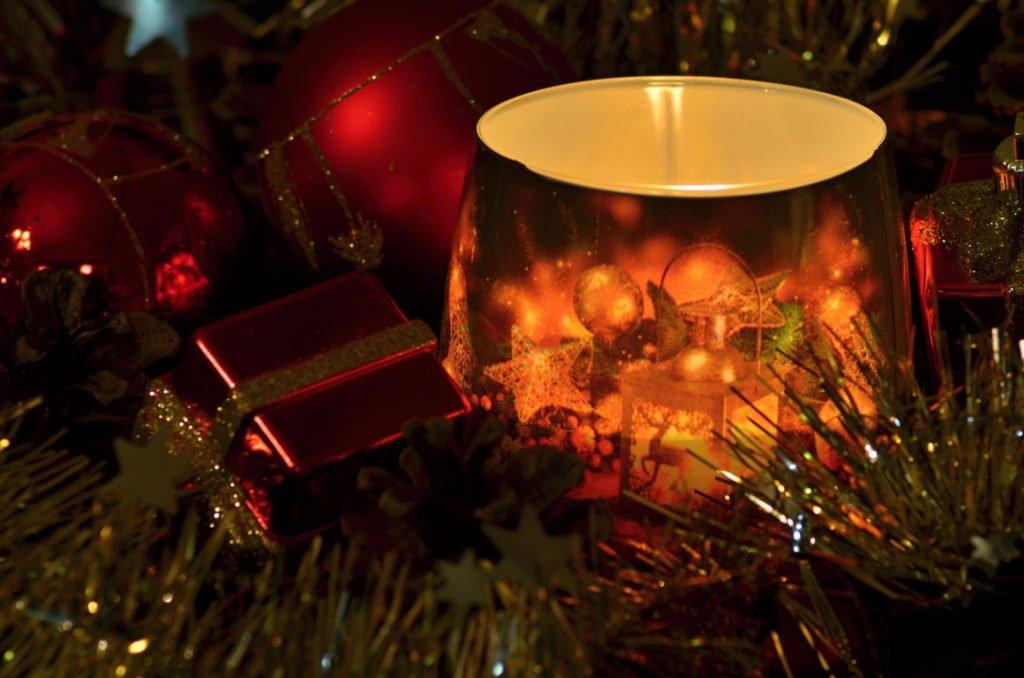 Vánoční obrázky svíčka