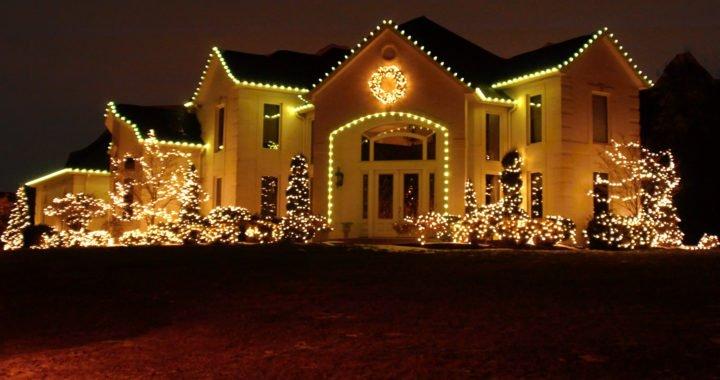 Vánoční venkovní osvětlení LED